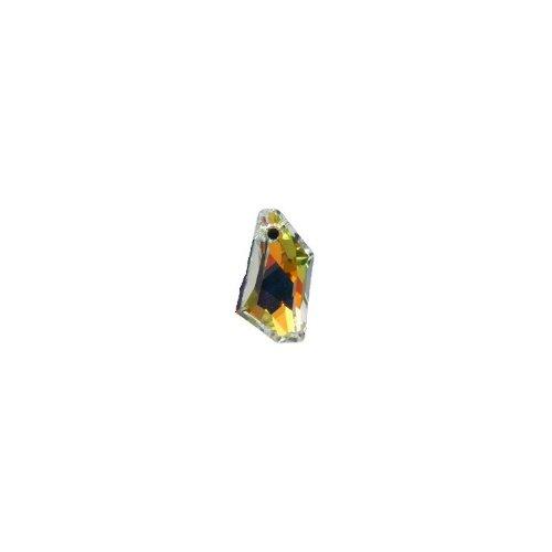 (SWAROVSKI ELEMENTS 6670 De Art Pendants, Aurora Borealis, Crystal, 24mm )