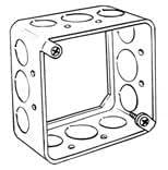 "4"" Square 4"" Square Extension Rings Box"