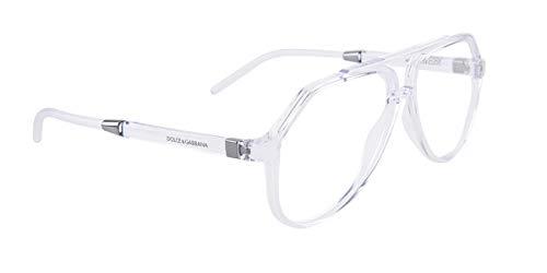 Dolce & Gabbana Eyeglasses D&G DG5038 DG/5038 3133 Crystal Optical Frame 56mm