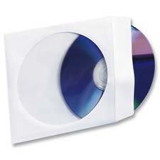 CD/DVD Window Envelopes, 5
