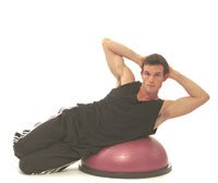 30-1901 Board Exercise Bosu Balance Training Blue 1/2 Hour Video Ea Part# 30-... by BND-Fabrication Enterprises