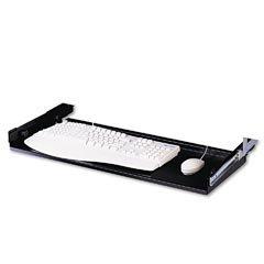 Mead-Hatcher Adjustable Steel Keyboard Drawer, Black (MAT32030) (Martin Yale Keyboard)