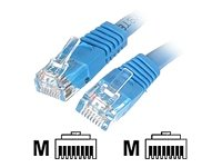 - Cat6 Ethernet Cable - 35 ft - Blue - Patch Cable - Molded Cat6 Cable - Long Network Cable - Ethernet Cord - Cat 6 Cable - 35ft