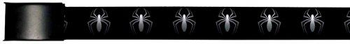 Spider-Man Marvel Comics Superhero White Spider Logo Web Belt Chrome