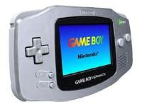 Limited Edition Platinum Game Boy Advance