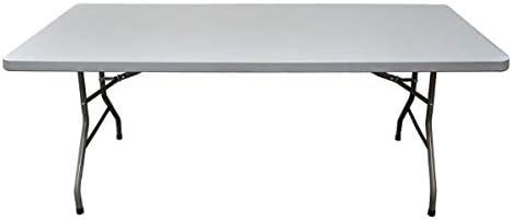 Mesa rectangular 200x90x74 para exterior e interior. Cualquier ...