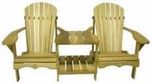 Rustic Natural Cedar Furniture 0400900P Pine Tete Furniture, Natural