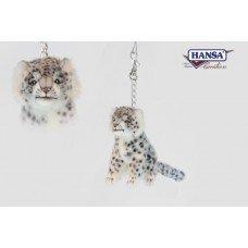 Hansa - Snow Leopard Keychain (Hansa Snow)