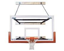 最初チームsupermount68 Victory steel-glass壁マウントバスケットボールsystem44 ;砂漠ゴールド B01HC0CB5M