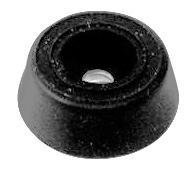 Penn Elcom 9120 Rubber Foot with Metal Washer - 7/8\