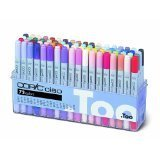 Too Copic Ciao 72 Color Marker A Set Japan for manga anime comic