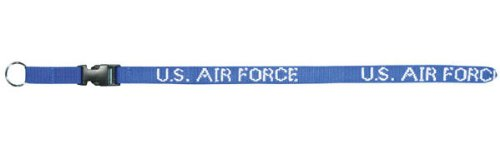USAF Air Force Lanyard - Neck Strap Key Ring