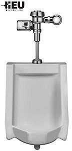 Sloan WEUS-1002.1402 High Efficiency Urinal features a battery-powered, sensor-o, White