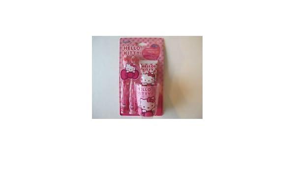 65aad9707 Amazon.com: hello kittydental starter set (pink) by hello kitty dental  starter set: Health & Personal Care
