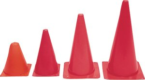 """Agility Cone 12 inch, Size: 12""""; Colour: orange ()"""