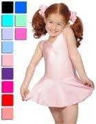 Dancewear Central Girls Istdj Lycra Leotard With Skirt
