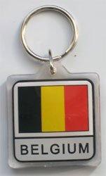 Belgium - Country Lucite Key R