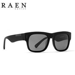 RAEN Optics レーン サングラス LENOX - Black POLARIZED 偏光レンズ Matte Black 正規代理店 B01MZ8DPG2, くすりのヨシハシ a314de89