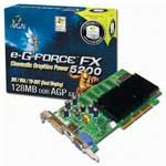eVGA.com e-G(R)Force FX 5200 AGP 8x Graphics Card, 128MB, VGA/TV/DVI