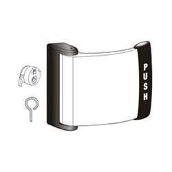 Adams Rite 4591-01-00-313 Aluminum Door Trim, 6.375'' Length