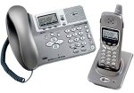 AT&T E2562 2.4 GHz DSS 2-Line Expandable Cordless Phone with Answering System and Corded Base