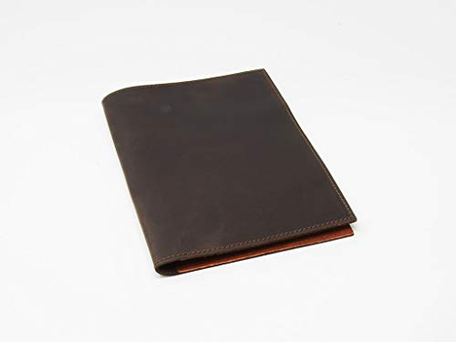 Notepad Holder Leather Notebook Padfolio
