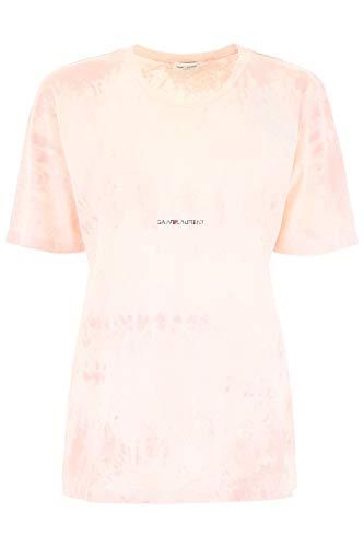 Algodon T Mujer Saint 563338ybhh25517 Rosa Laurent shirt xXvXwqgRI