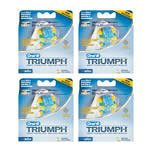 Flossaction Refill (Oral-B Triumph FlossAction Brushheads 4-3 packs (12 total Brushheads))