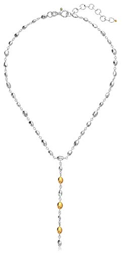 Gurhan Women's Nugget Collection Sterling Silver Single Strand Y Shaped Necklace, Adjustable ()