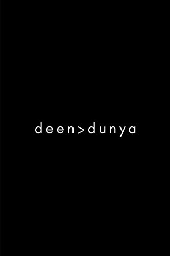 Read Online Deen>Dünya: Muslim Journal (Black) pdf epub