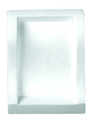 D16 Decorative Center Block for Crown Molding 4 Inches high and 4 Inch Projection Primed White (Crown Block)