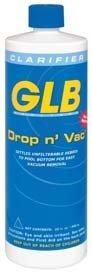 GLB Pool & Spa Products 71408 1-Quart Drop n' Vac Pool Water Clarifier