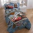 Disney Pixar CARS TWIN/FULL and FULL SHEETS comforter hot new design! LIGTHNING MCQUEEN