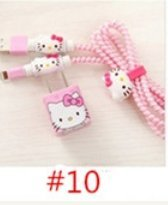 3D protector cable cargador (Hello Kitty Rosa): Amazon.es ...