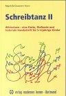 Schreibtanz, Bd.2, Wörtertanz, eine flotte, fließende und federnde Handschrift für 5-12jährige Kinder, m. Audio-CD