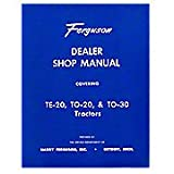 REP090 New Massey Ferguson MF Tractor Dealer Shop Manual TE20 TO20 TO30