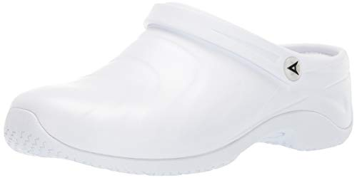 Anywear Zone Women's Slip On 6 C/D US White