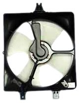TYC 610690 Honda Accord Replacement Condenser Cooling Fan Assembly ()