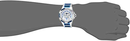 Invicta Men s Star Wars Automatic-self-Wind Watch with Stainless-Steel Strap, Silver, 25.7 Model 26206