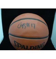Signed Bynum, Andrew Indoor/Outdoor Basketball autographed Powers Collectibles