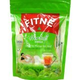 6 Packs of New Fitne New Herbal Infusion Green Tea Flavored...