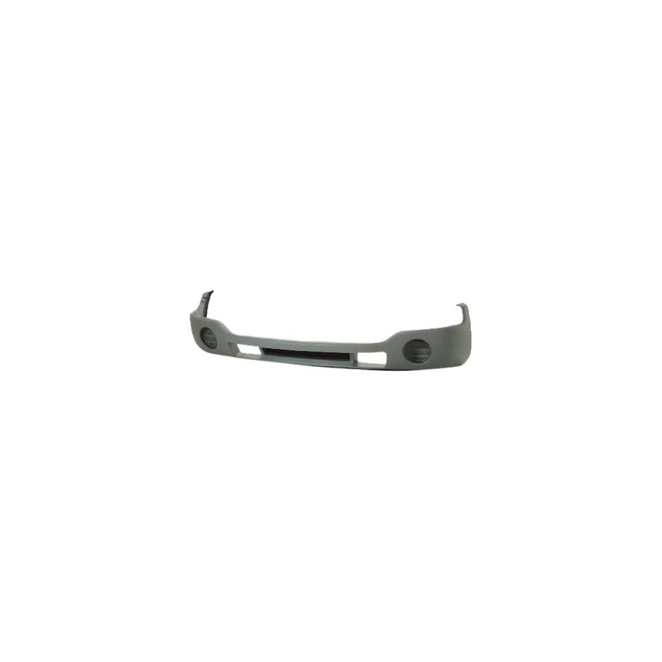 OE Replacement GMC Sierra Front Bumper Cover (Partslink Number GM1000684)