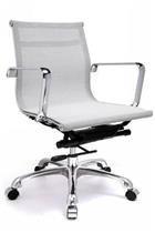 Sedia Eames Ufficio.Charles Eames Aluminium Chair Rete Replica Poltrona Design