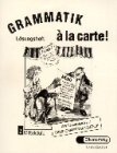 Grammatik a la Carte 2 : Key Book, Apelt, Mary L. and Apelt, H. P., 3425259946