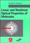 Linear and Nonlinear Optical Properties of Molecules : An Overview, Wagniere, George H., 3527290451