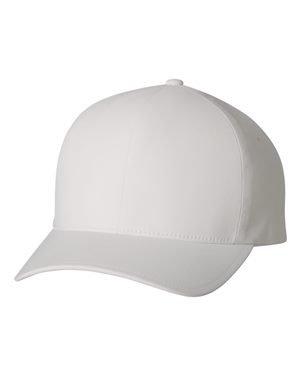 - Flexfit MenÕs Seamless Fitted Flexfit Delta Cap (Large/X-Large, White)