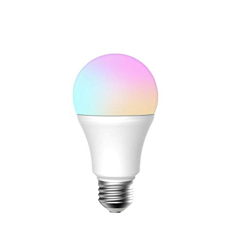 Smart-Bulb Smart-Light,Meross LED Dimmable Bulb Color Changing Light Bulb 60 Watt Light Bulb Equivalent Compatible with Alexa/Google Assistant/IFTTT(1 Pack)