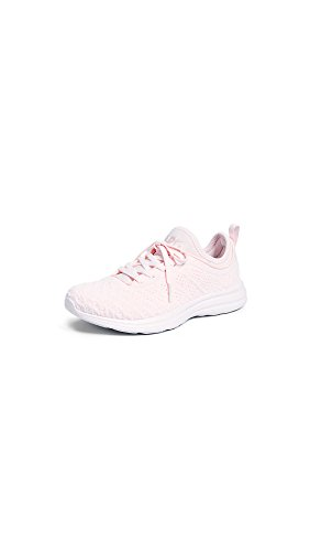 APL: Athletic Propulsion Labs Women's Techloom Phantom Sneakers, Bleached Pink, 8.5 B(M) US