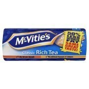 Tea Time Biscuits - McVitie's Classic Rich Tea Buscuits 200g -2 Pack