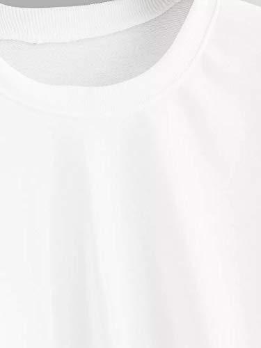 Occasionnel Manches Pull Chemise Femme Blanc A Arc Shirt Femmes Couture Longue Aux dcontract Shirt Tops Sweat en Longues Ciel Cou Manche Pull o Patchwork Rayure Chemisier Sweat Chic 1X0tqxq